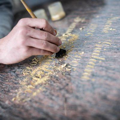 Gravure pour monument funéraire Territoire Belfort